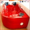 Red massage hot tub accept paypal,jacuzzi function hot tub HS-X280