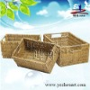 promotion handmade natural baskets made of straw