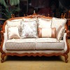 Solid wood fancy sectional sofa set designs 2012 WHT-SF-812