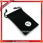 Black small bags for jewelry or gifts packaging from factory direct