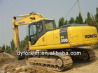 used excavator from komatsu in nice condition