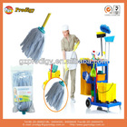 Polyester replaceable mop head, cleaning mop