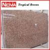 Granite slab Tropical brown
