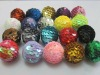 Bulk 25mm mixed sequin ball beads AAA quality, jewelry christmas design sequin beads