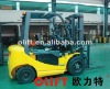 2000kg Four-Wheel Cheap DC/AC Electric Forklift FB20/20A
