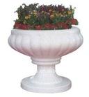 Outdoor Modern Marble Flowerpots