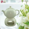 500cc stoneware tea pot warmer