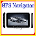 Hot Selling! 5 inch gps igo8 map free GPS Navigation 800x480 mtk3351