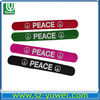 2013 lastest fashion silicone slap big band siliocne bracelet for dancing club
