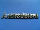 Popular auto decoration car logo badge,emblem letter badge