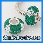 Crystal Ball Pave Bead WBSCS22