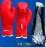 AMA-11 Boxing Gloves (PU boxing gloves/boxing product/boxing item/boxing training equipment/sports gloves)