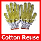 Skidproof Cotton Knitted Working Gloves