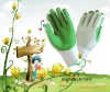 Synthetic rubber glove
