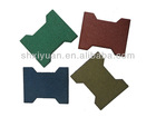 OS22101 Rubber Flooring ,Various Colors and Shapes are Available
