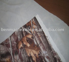 PRINTING FABRIC BONDED WITH PU FILM FOR GARMENT