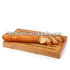 Square cutting board for bread