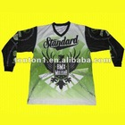 Full sublimation BMX jersey with 100% polyester