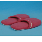 polar fleece soft sole indoor slippers with foam filled