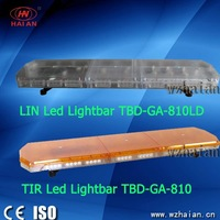 LIN slim led lightbar TBD-GA-810LD