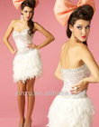 charming pincess mini doll strapless sweetheart attractive costume prom dress