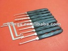 9pcs lock pick