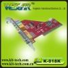 PCI Sound card (4 channeswith game port)