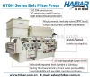 Hige Dewatering Efficiency Belt Filter press HTBH-1500