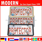 Car plastic license frame plate