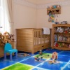 500*500mm eco-friendly liquid kindergarten floor