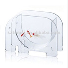 animal shaped clear acrylic desk fish tank