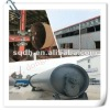 capacity of 6T/D --intermittent scrap car tyre recycling machinery with CE/ISO