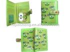 Green printing 2 fold wallet