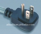 American standard power cord electrical plug with connector YY-3A