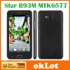 HK Post Freeshipping New B93M MTK6577 dual core Android 4.0 OS 4.5inch Capacitive 5-Point touch screen 3G smartphone