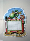 magnet board/memo board/magnetic board/magnet message board