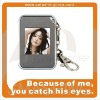 1.5 inch mini digital photo frame, keychain frame, top seller business gifts
