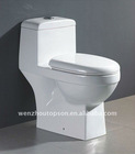 One Piece Toilet Bowls with high ceramic , Bathroom Fitting