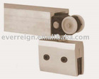 Alluminum or stainless steel glass door roller