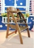 WSY-B33 wooden baby high chair