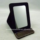 promotion leather mirror
