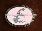 Solid brass belt buckles in cartoon design