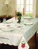 Christmas satin tablecloth