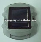 Solar power aluminum solar road stud