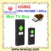 Google IPTV Box UG802 with RK3066 Dual Core