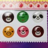 crystal button sticker for iPhone/iPod/iPad