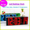 Hot product with Thermometer-- LED Digital World Clock
