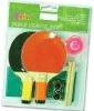 Kids Mini Table Tennis Set With 2 Rackets + 1 Ball + Net + Post