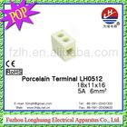 Porcelain Terminal Block LH0512 5A 18*11*16MM! /Ceramic verifone pos terminal