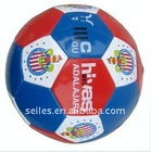 professional shiny pvc flag soccer ball